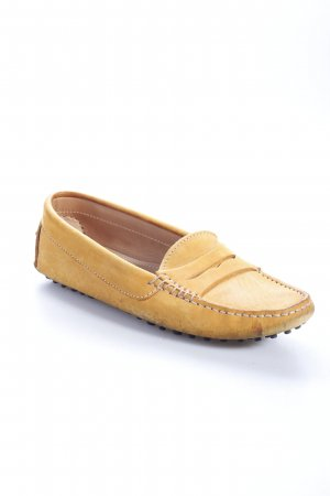 Scarosso Mocassins orange clair style simple