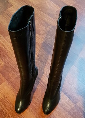 Konstantin Starke High Heel Boots black leather
