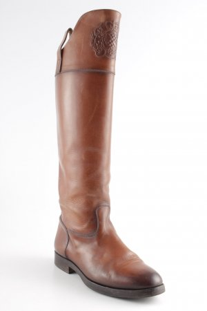 Botas estilo militar marrón estilo country