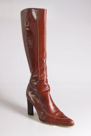 Jackboots brown leather