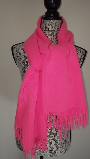 H&M Bufanda rosa neón