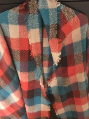 Bufanda de lana multicolor