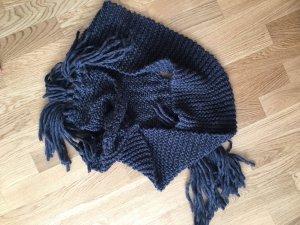 Opus Écharpe en crochet gris anthracite