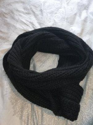 Pieces Woolen Scarf black