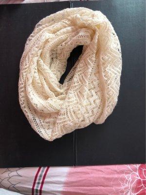 H&M Sciarpa lavorata a maglia crema