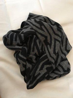 Vero Moda Bufanda tubo negro-gris claro