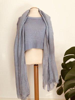 Marc O'Polo Sjaal wit-azuur