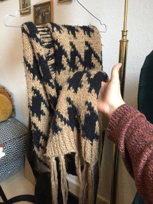 Asos Crochet Scarf multicolored