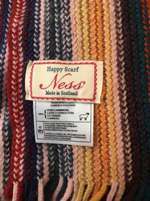 Schal aus Lammwolle von Ness
