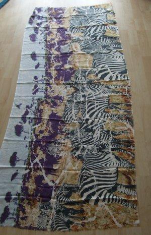 Schal aus Modal  von Striessnig  - Afrika - Zebras