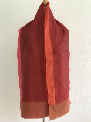Écharpe en soie multicolore soie