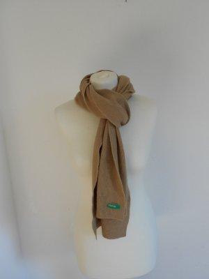 Schal beige Benetton