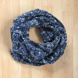 Marc O'Polo Chal veraniego azul-azul oscuro Poliéster