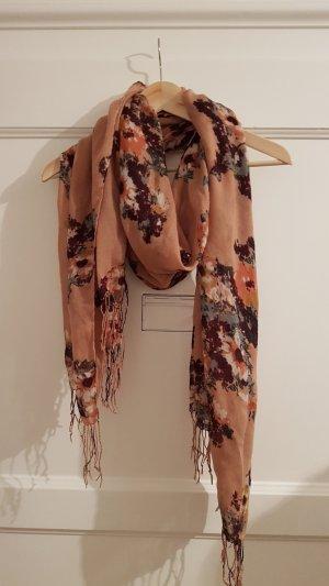 Schal, Blumenmuster