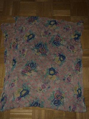 Schal, Blumenmuster, Punkte