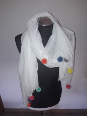 Bufanda blanco