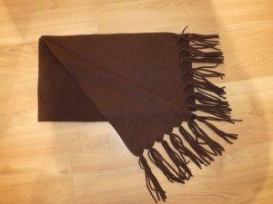 Schal braun Fleeceschal, Fleece ca. 160x24 cm