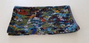 Sciarpa estiva multicolore Cotone