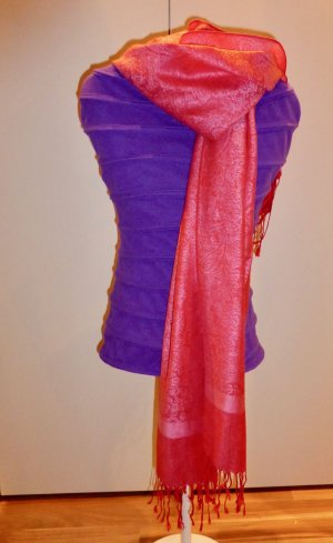 Cashmere Scarf raspberry-red-pink