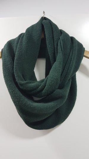 Bufanda tubo verde oscuro-verde bosque