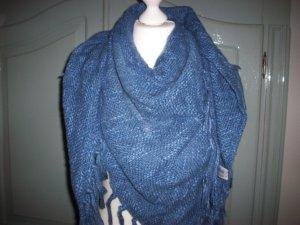 Schal-Dreieck Blau XL von Esprit