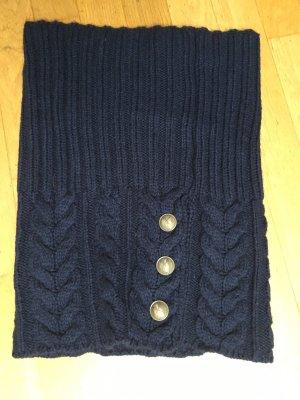 Drykorn Woolen Scarf dark blue