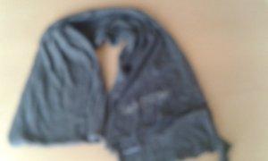 Marc O'Polo Wollen sjaal grijs Gemengd weefsel