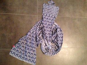 Schal EDC blau Jersey neuwertig