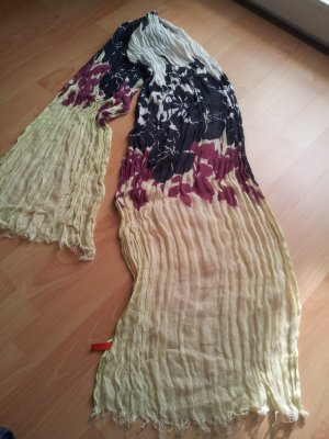 Esprit Fringed Scarf multicolored
