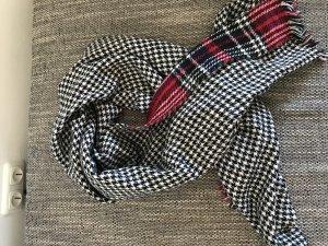 Sciarpa lavorata a maglia multicolore