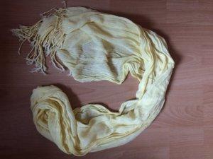 Schal, gelb
