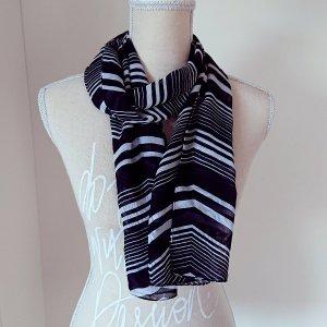 Sjaal wit-zwart