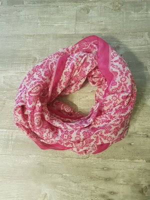 Ludwig Görtz Snood white-pink
