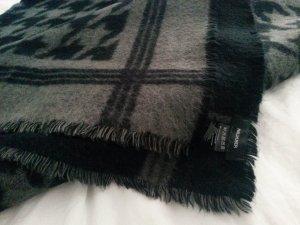 Schal grau-schwarz von Hallhuber