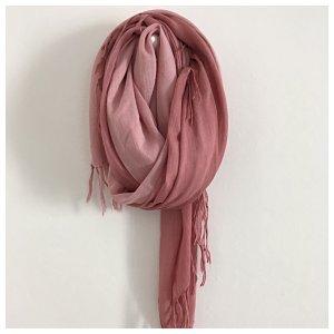 Schal, Groß, vielseitig, Farbverlauf Rosa