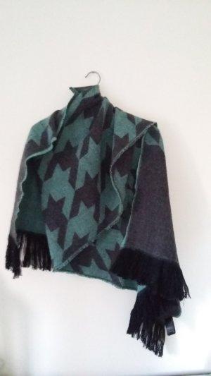 Schal H&M schwarz grün