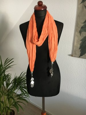 Porte-clés orange-gris clair