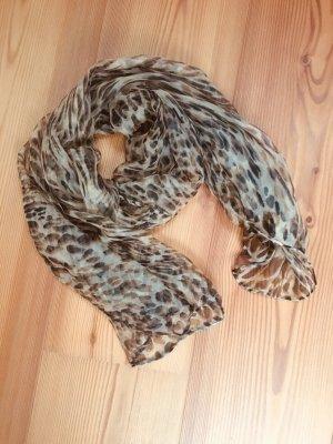 Schal Halstuch Tiger Leopard Muster
