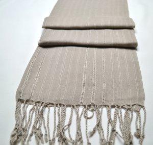 Schal Hellgrau Hijab