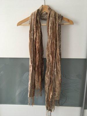 Schal in braun/beige Tönen