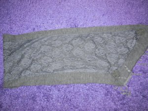 Knitted Scarf anthracite