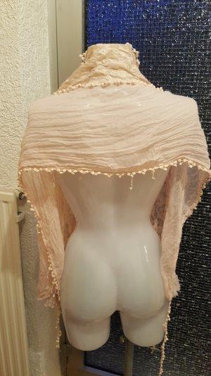 Bufanda nude-rosa empolvado