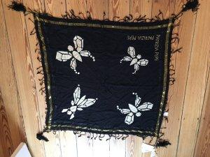 Schal in schwarz-gold von Patrizia Pepe