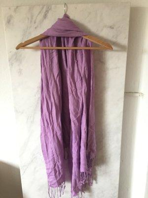 *Schal* in Violett für den Herbst
