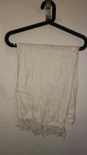 Schal in weiß