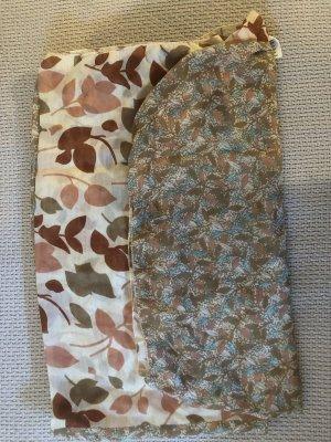 Schal in zwei Mustern neu