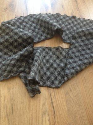 Sjaal zwart-wit Wol