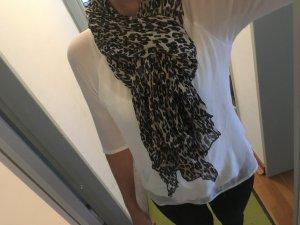 Schal Leopard beige braun