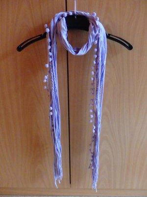 Fringed Scarf lilac-purple