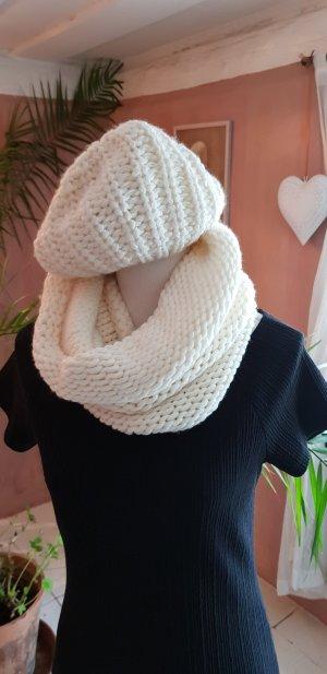 Bufanda tubo blanco